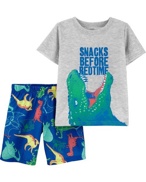 Pijama Dinosaurio 2 Piezas Carter's
