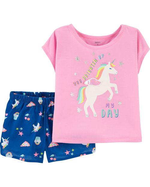 Pijama Unicornio 2 Piezas Carter's