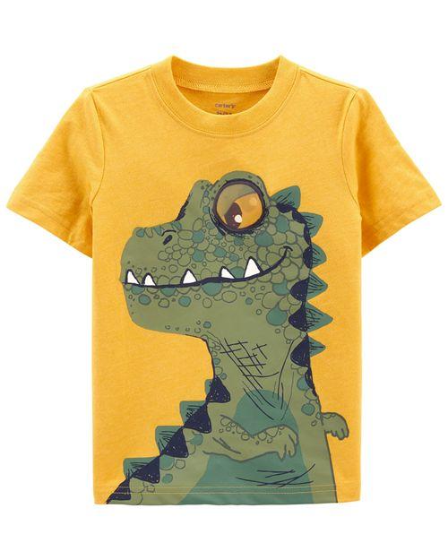 Playera De Jersey Con Diseño De Dinosaurio Carter's