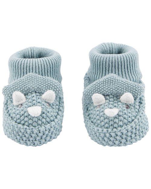 Zapatos Tejidos A Crochet Con Diseño De Dinosaurio Carter's