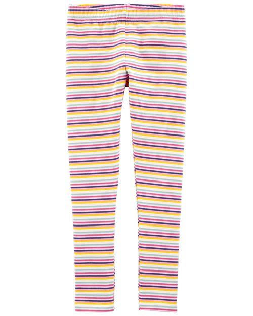 Leggings Con Diseño A Rayas Y Arcoíris Oshkosh B'Gosh