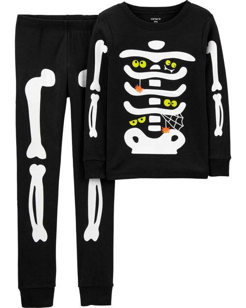 Pijama De 2 Piezas Halloween Brilla En La Oscuridad Carter's