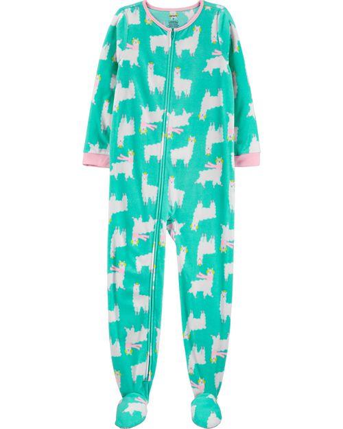 Pijama de 1 Prenda de Lana con Pie Llamas Carter's