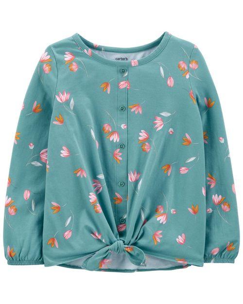 Blusa Con Estampado Floral Carter's