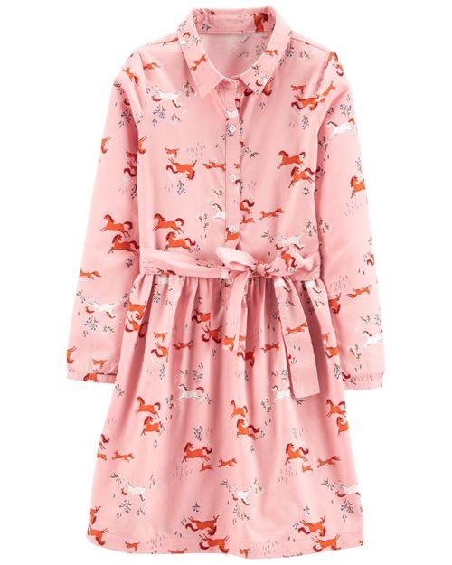 Vestido Diseño De Caballos Carter's