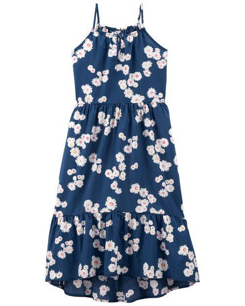 Vestido Floral Sol Alto Bajo Oshkosh B'Gosh