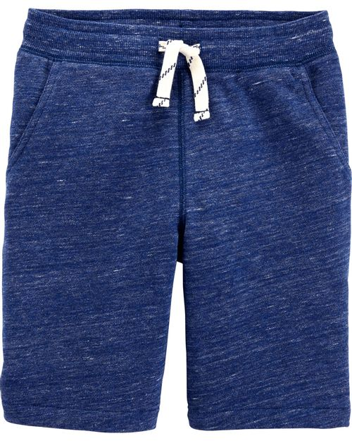Shorts De Felpa Francesa Cintura Elástica Carter's