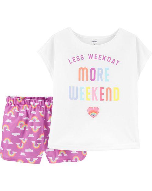 Pijama More Weekend De 2 Piezas Carter's