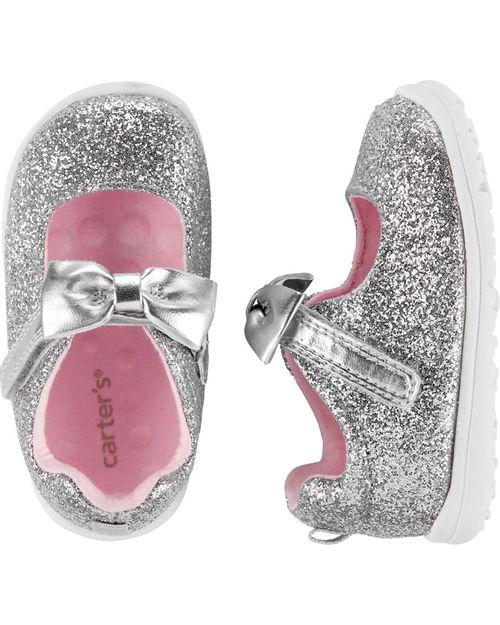 Zapatos Carter's Every Step Plateados Carter's