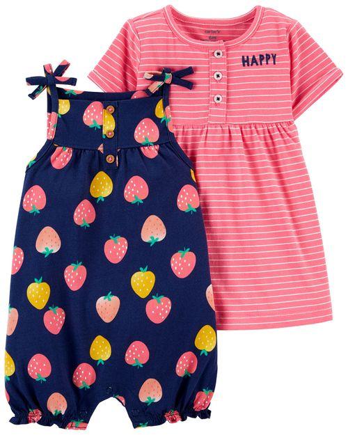 Conjunto de 2 prendas Romper y Vestido Carter's