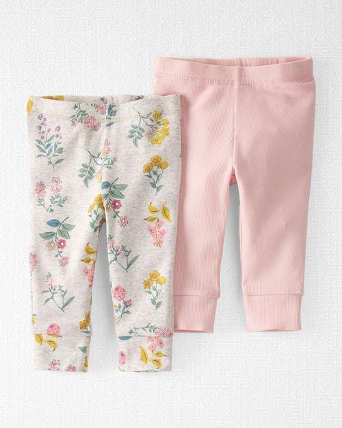 Paquete De 2 Pantalones Grow-With-Me Orgánicos Carter's Little Planet