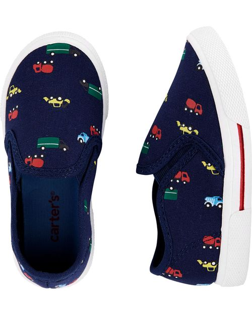 Zapatos Sin Agujetas Con Carros Carter's