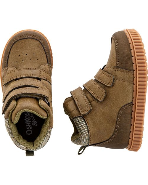 Zapatos Tipo Bota Con Cinta Triple Oshkosh B'Gosh