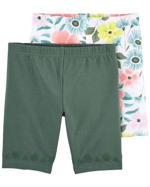 Paquete De 2 Shorts Capri Carter's