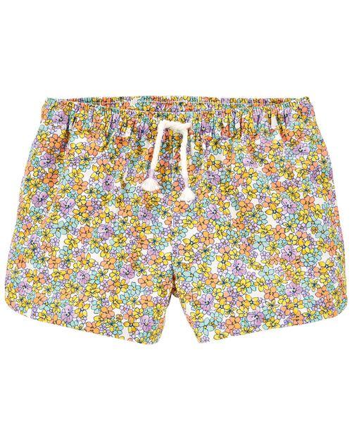 Shorts Corte Delfín Diseño Floral Oshkosh B'Gosh