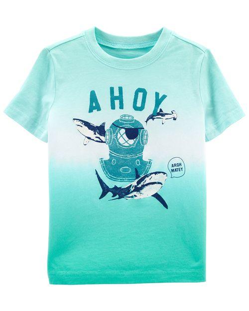 Playera Diseño Dip-Dye Ahoy Oshkosh B'Gosh