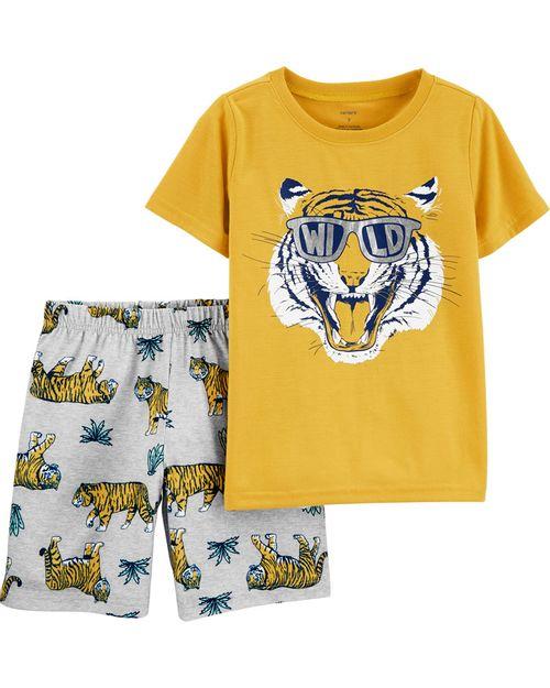 Pijama Tigre 2 Piezas Carter's