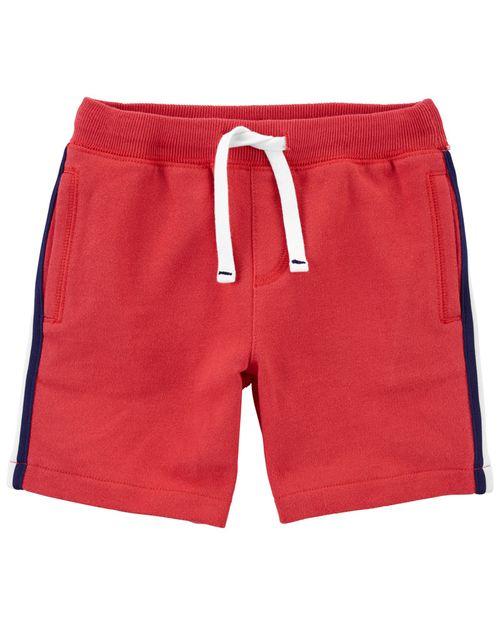 Shorts De Felpa Francesa Con Cintura Elástica Carter's