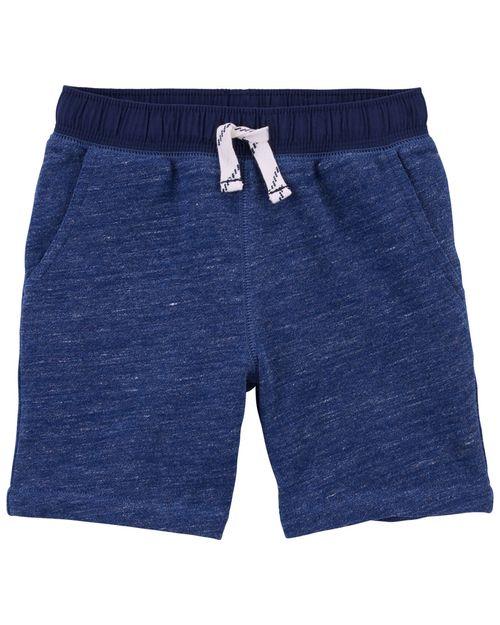 Shorts De Punto Con Cintura Elástica Carter's