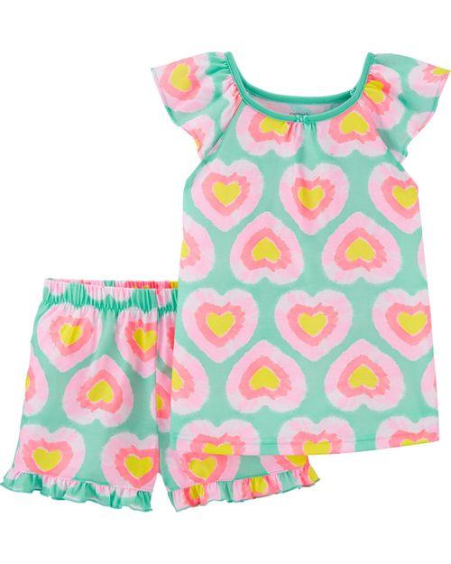 Pijama Corazón De 2 Piezas Carter's